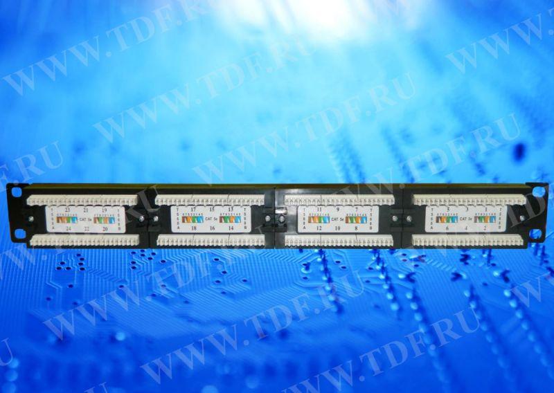 Спецификация. Базовая комплектация патч-панели. 19' / 24 порта RJ45